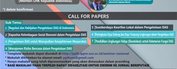 Info - Seminar Nasional Pengelolaan DAS Terpadu