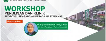 Pengumuman - Workshop Penulisan dan Klinik Proposal Pengabdian kepada Masyarakat