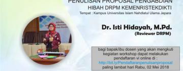 Info - Workshop Penulisan Proposal Pengabdian